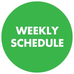 Mowing and Hedge Trimming Weekly Schedule